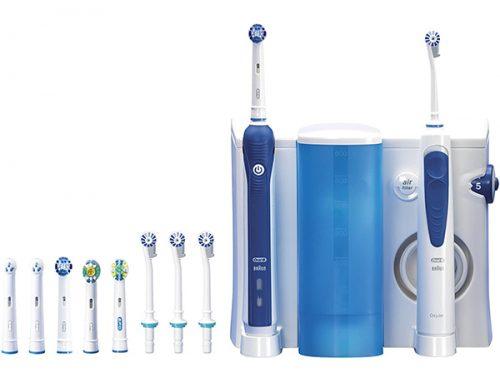 Spazzolino elettrico Professional Care 3000 + Kit Idropulsore Oral-B Care Oxyjet